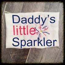 Daddy's Little Sparkler