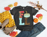 Fall Pumpkin Tee