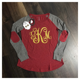 Monogrammed Preppy Patch Tee