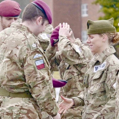 FEMALE BRITISH OFFICER BECOMES THE FIRST WOMAN TO SMASH P COMPANY