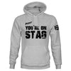 Pssst, You're On Stag Pullover Hoodie
