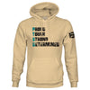 PTSD Proud, Tough, Strong, Determinded Pullover Hoodie