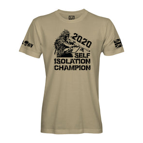 Self Isolation Champion 2020 T-Shirt