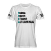 PTSD Proud, Tough, Strong, Determined T-Shirt