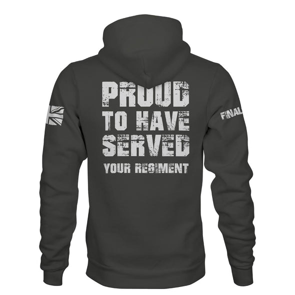 Proud To Have Served Personalised Pullover Hoodie
