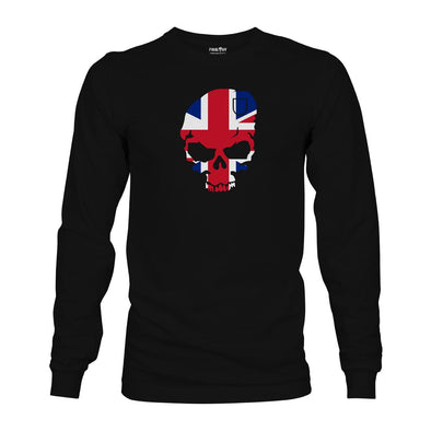 Final RV Patriot Skull Long Sleeve T-Shirt