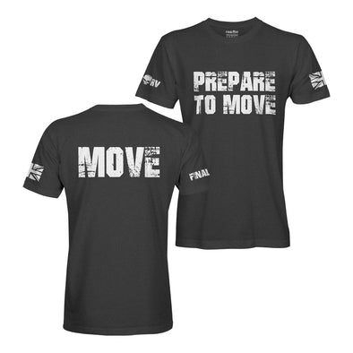 Prepare To Move - Move T-Shirt