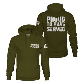 Proud To Have Served Pullover Hoodie
