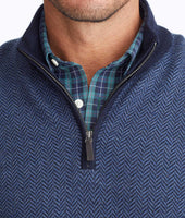 Merino Wool Herringbone Quarter-Zip 5