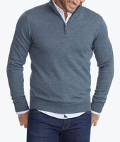 Merino Wool Quarter-Zip 1