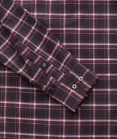 Wrinkle-Free Performance Flannel Benoit Shirt - FINAL SALE Zoom
