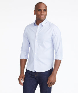 Wrinkle-Free Bordeaux Shirt