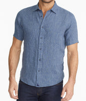 Wrinkle-Resistant Linen Short-Sleeve Canon Shirt - FINAL SALE 1