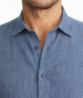 Wrinkle-Resistant Linen Short-Sleeve Canon Shirt - FINAL SALE 4