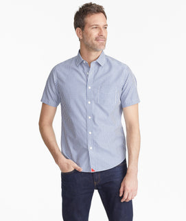 Wrinkle Free Short Sleeve Cappellano Shirt
