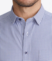 Wrinkle-Free Performance Short-Sleeve De Bortoli Shirt - FINAL SALE Zoom