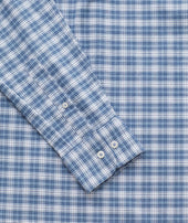 Wrinkle-Free Performance Flannel Dhais Shirt Zoom
