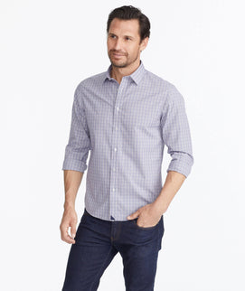 Luxe Wrinkle-Free Graystone Shirt