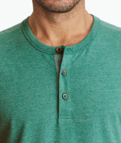 Ultrasoft Short-Sleeve Henley - FINAL SALE Zoom