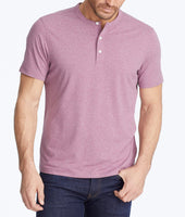 Short-Sleeve Performance Henley - FINAL SALE 1
