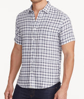 Wrinkle-Resistant Linen Short-Sleeve Oltrepo Shirt - FINAL SALE 1