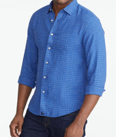 Wrinkle-Resistant Linen Piave Shirt - FINAL SALE 1