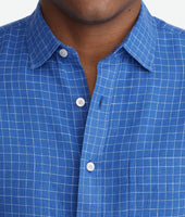 Wrinkle-Resistant Linen Piave Shirt - FINAL SALE 4