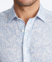 Linen Short-Sleeve Terlan Shirt - FINAL SALE Zoom