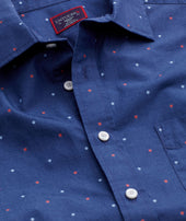 Classic Cotton Short-Sleeve Winzer Shirt - FINAL SALE Zoom