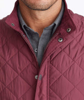 Quilted Field Vest Zoom