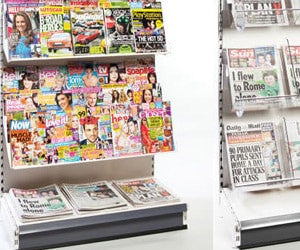 Magazine & Newspaper Shelves