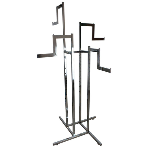 Adjustable 4 Stepped Arm Garment Rack