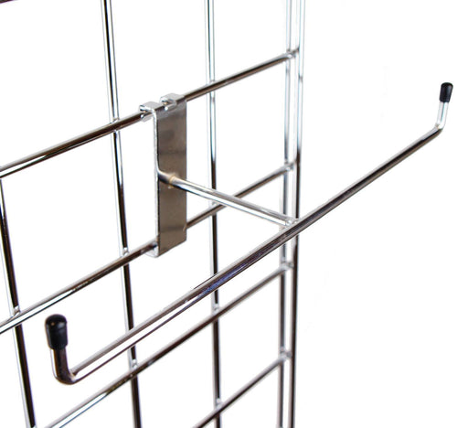 T Bar bangle holder for grid panels