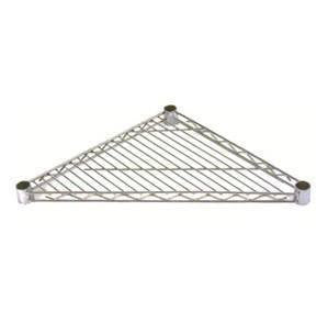 Triangular Chrome Wire Shelves