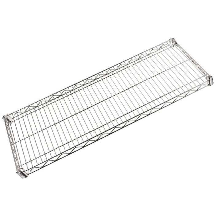 chrome wire shelf 153 x 61cm