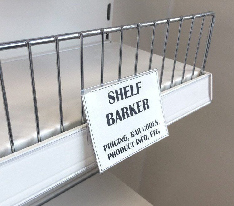 Shelf talker