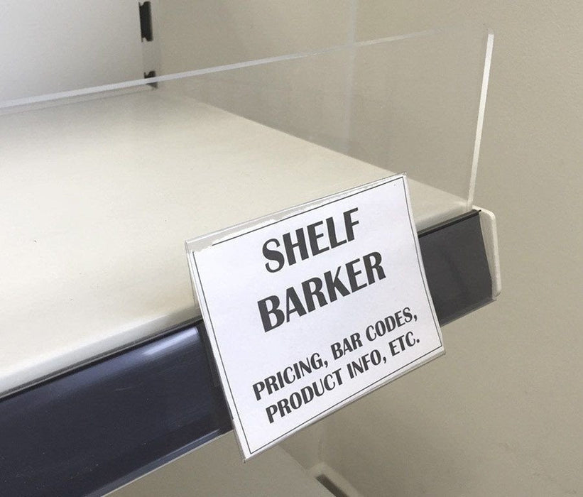 Shelf Barker