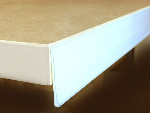Self-adhesive white epos price strip