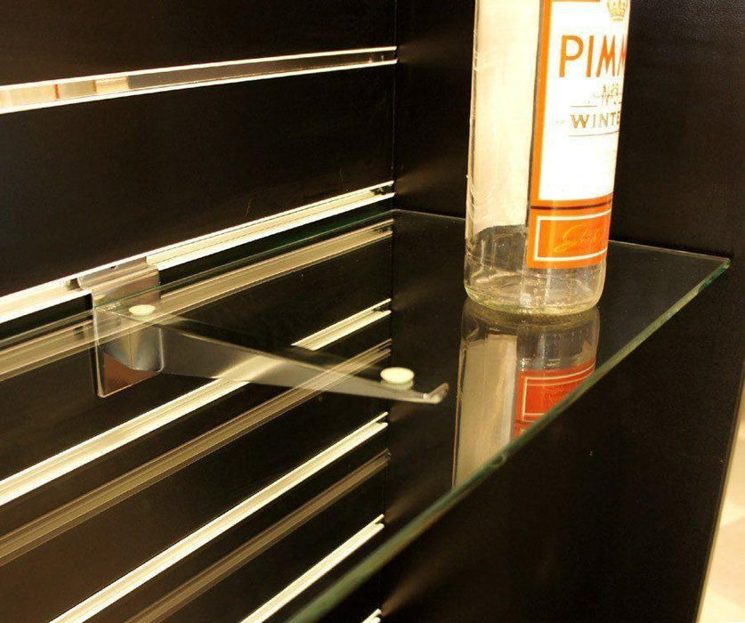 Toughened Glass Shelves - 99.5 x 20cm - 2 pack