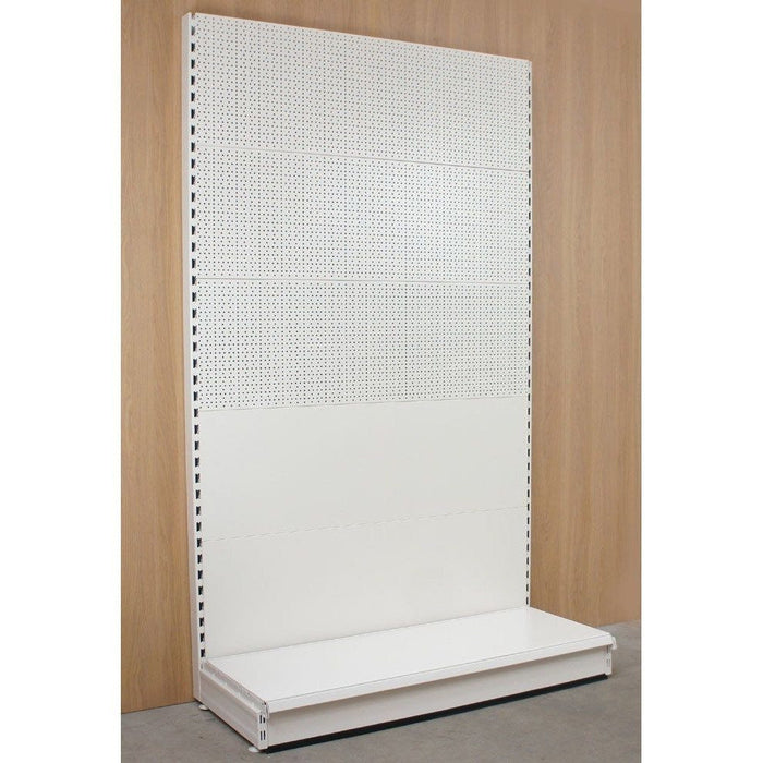 Starter Wall Bay - Mixed Peg/Plain Back Panels, Choice of height & width..