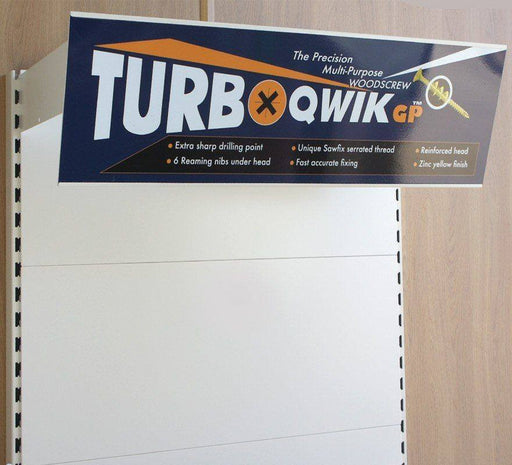 Sign Holder for Shelving