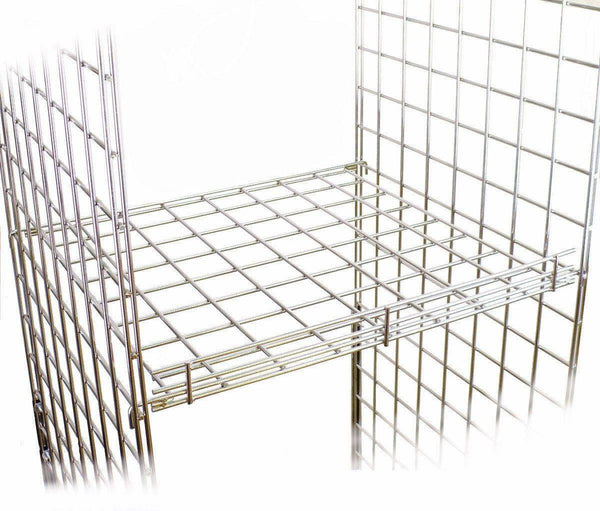 Internal Mesh Shelf for grid panels