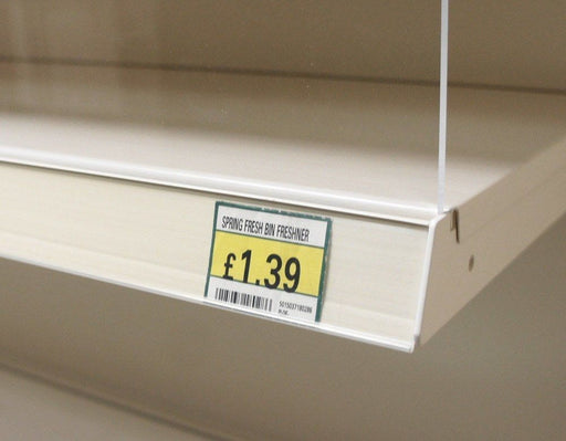 EPOS Shelf Edge Strip - Jura White