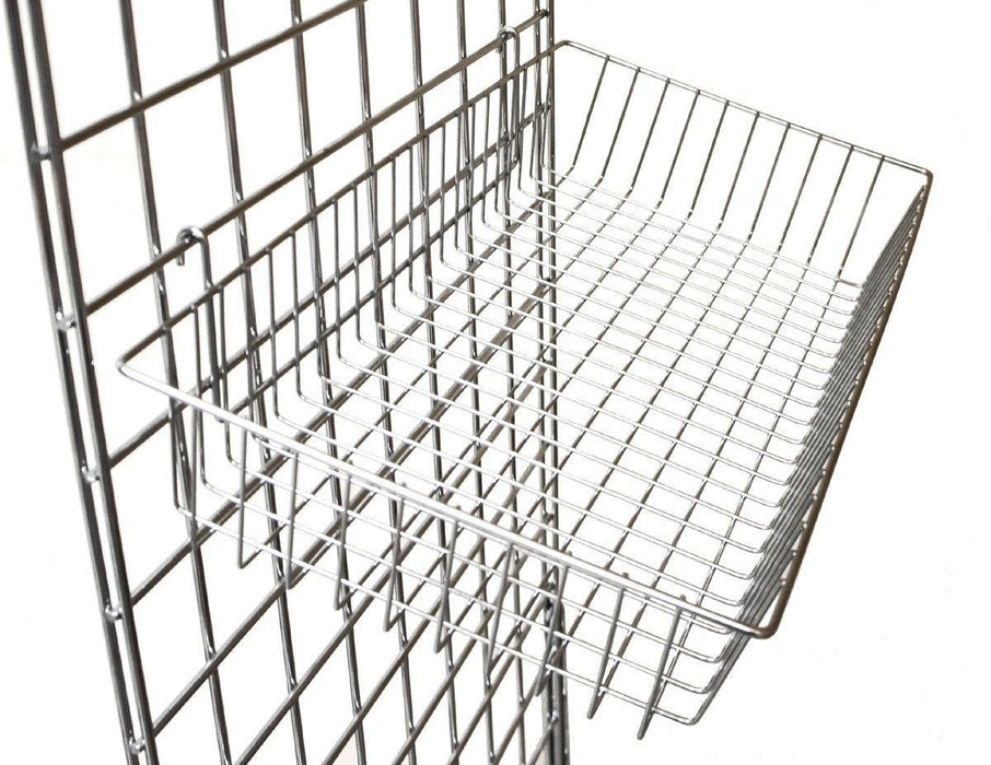 large basket for grid panels