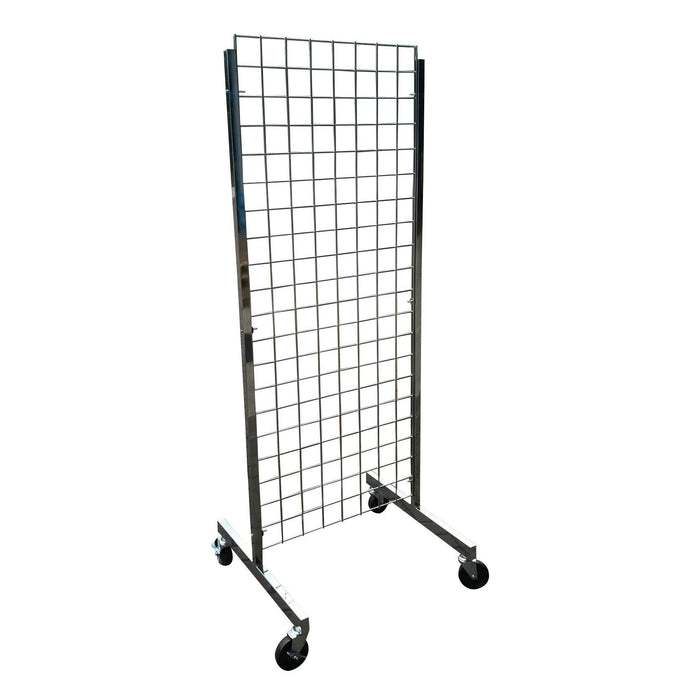 Mobile 2 Way Grid Panel Display 1.5m