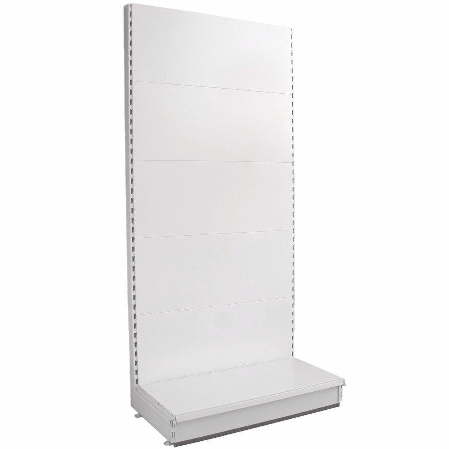 Starter Wall Bay - Plain Back Panels, 30cm deep base, Choice of height & width..