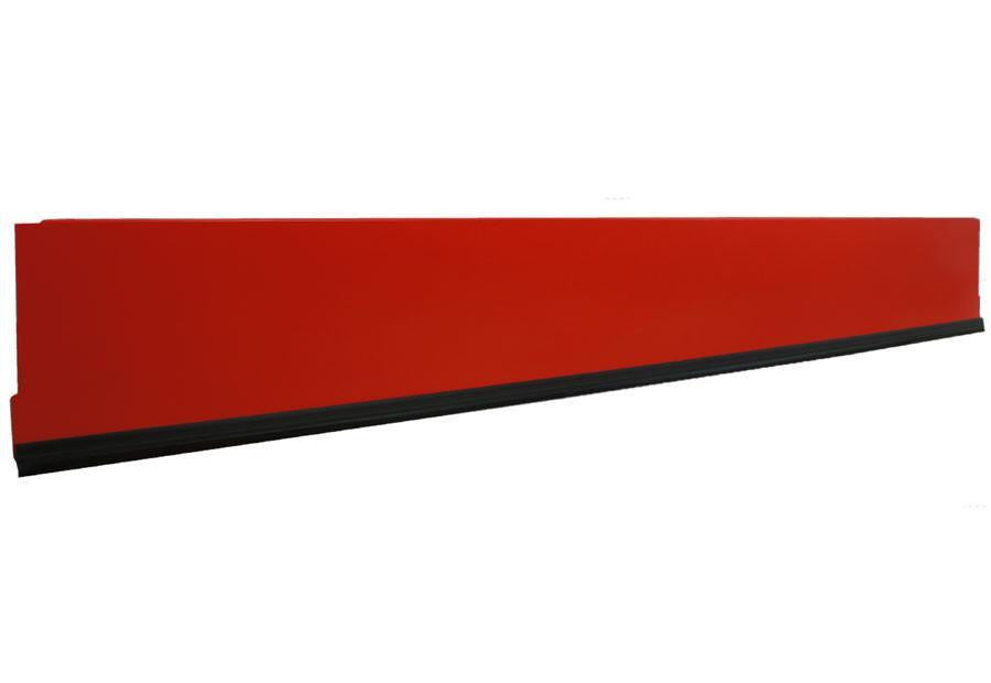 Kickplate (Plinth), Red - 125, 100, 80, 66.5cm...