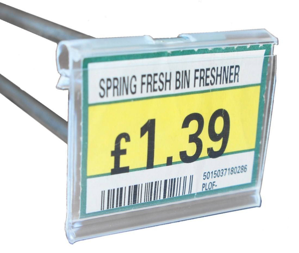 EPOS Price Ticket Holder - 53mm (2in) wide