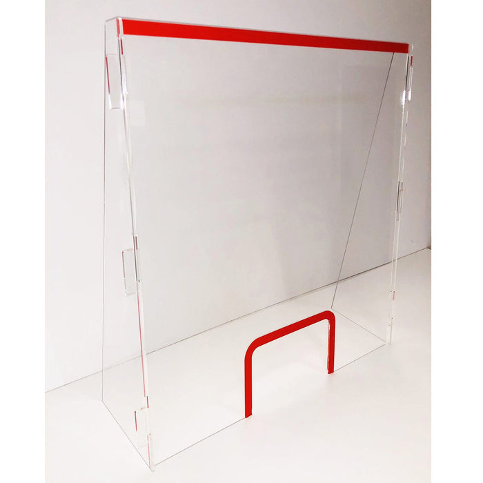 Acrylic Protection Screen - 100 high x 75cm