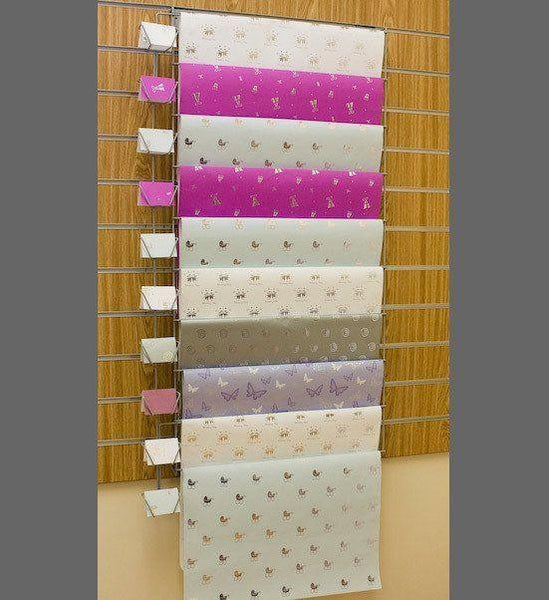 10 rung gift wrap ladder for slatwall